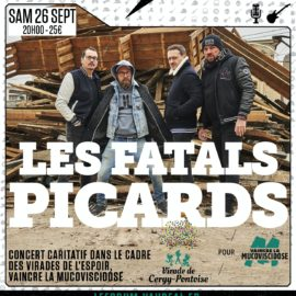 Concert des Fatals Picards au Forum de Vauréal le samedi 26 septembre 2020